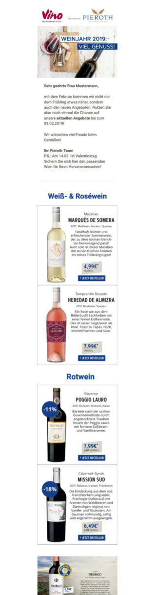 Referenzen Vino Newsletter 1