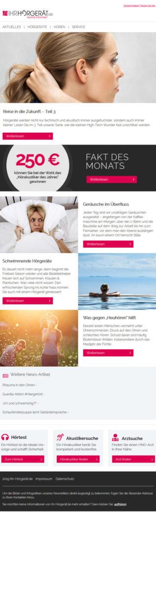 Referenzen Ihr-Hörgeröt.de Newsletter 4