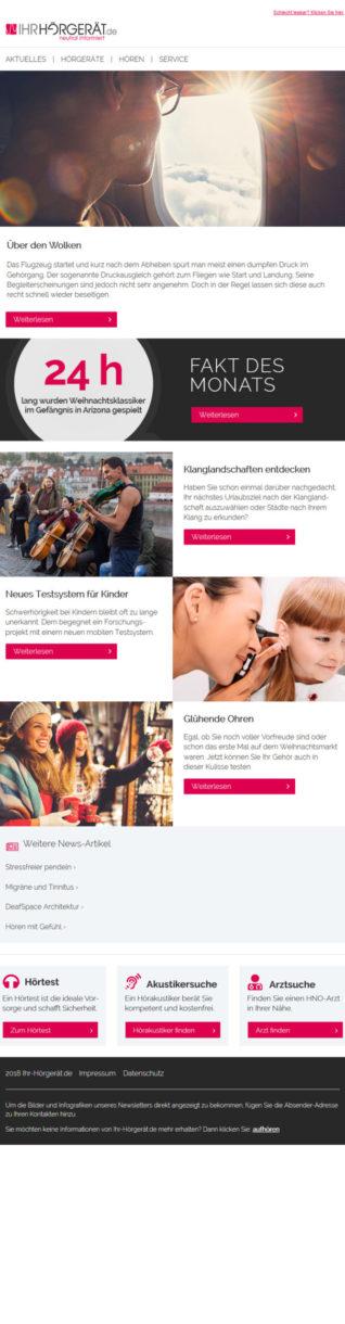 Referenzen Ihr-Hörgeröt.de Newsletter 3