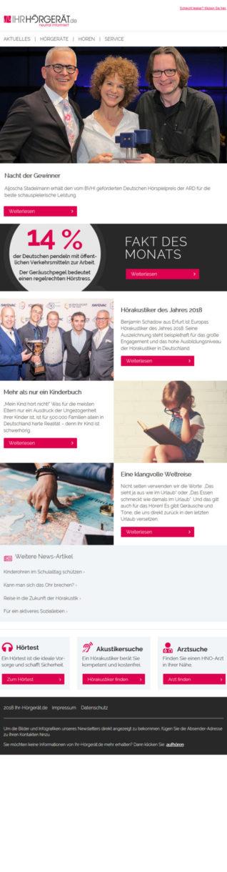 Referenzen Ihr-Hörgeröt.de Newsletter 1