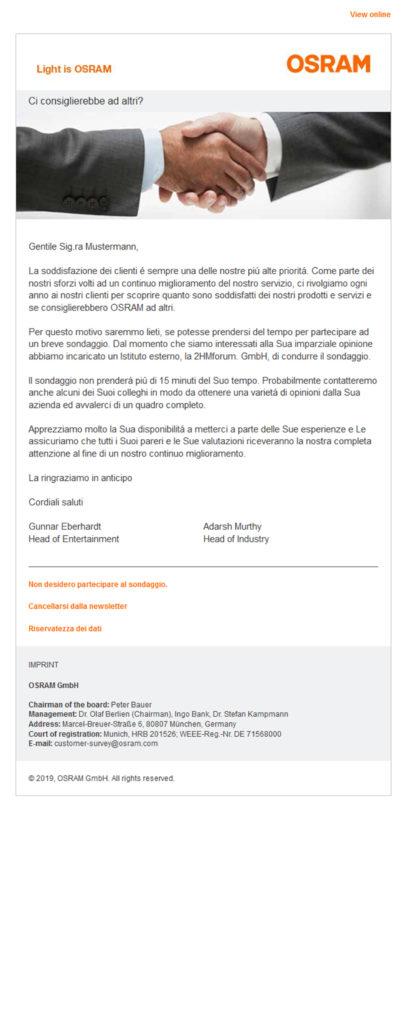 Referenzen OSRAM Newsletter 3