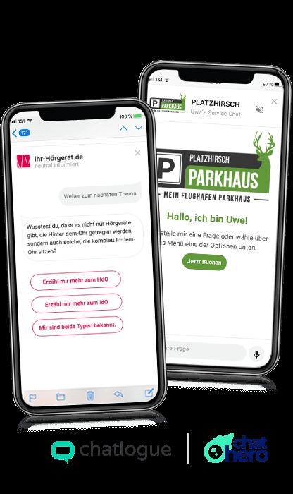 App Platzhirsch & Ihr-Hörgerät