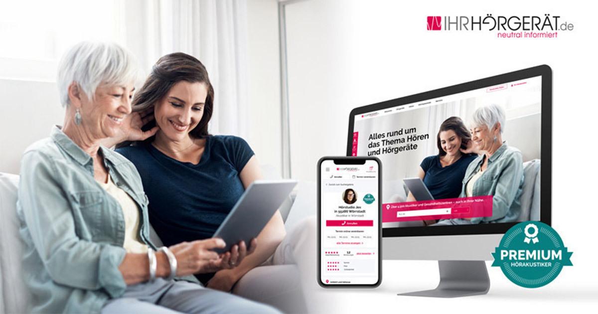 Premium-Portal für Ihr-Hörgerät.de
