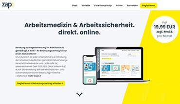 zap - Website